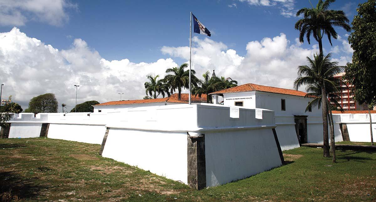 Foto Forte de Cinco Pontas. Bron: http://museudacidadedorecife.org/museu/