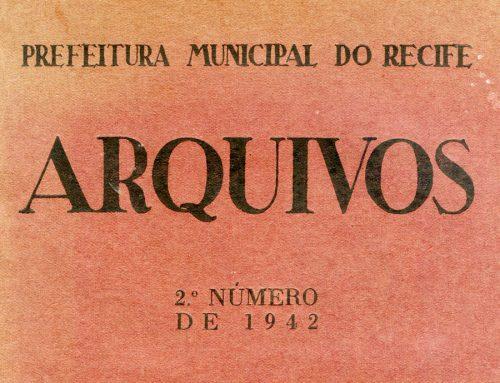 O serviço do patrimônio – Airton da Costa Carvalho. ARQUIVOS