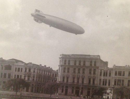 Exposição e lançamento de livros no MCR lembram a era de ouro dos dirigíveis