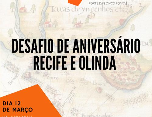 Para celebrar aniversário do Recife e de Olinda, Museu da Cidade do Recife lança desafio no Instagram