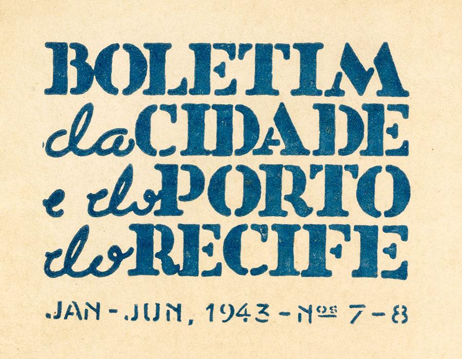 Regata Inesperada – Mário Sette. Boletim da cidade e do porto de Recife