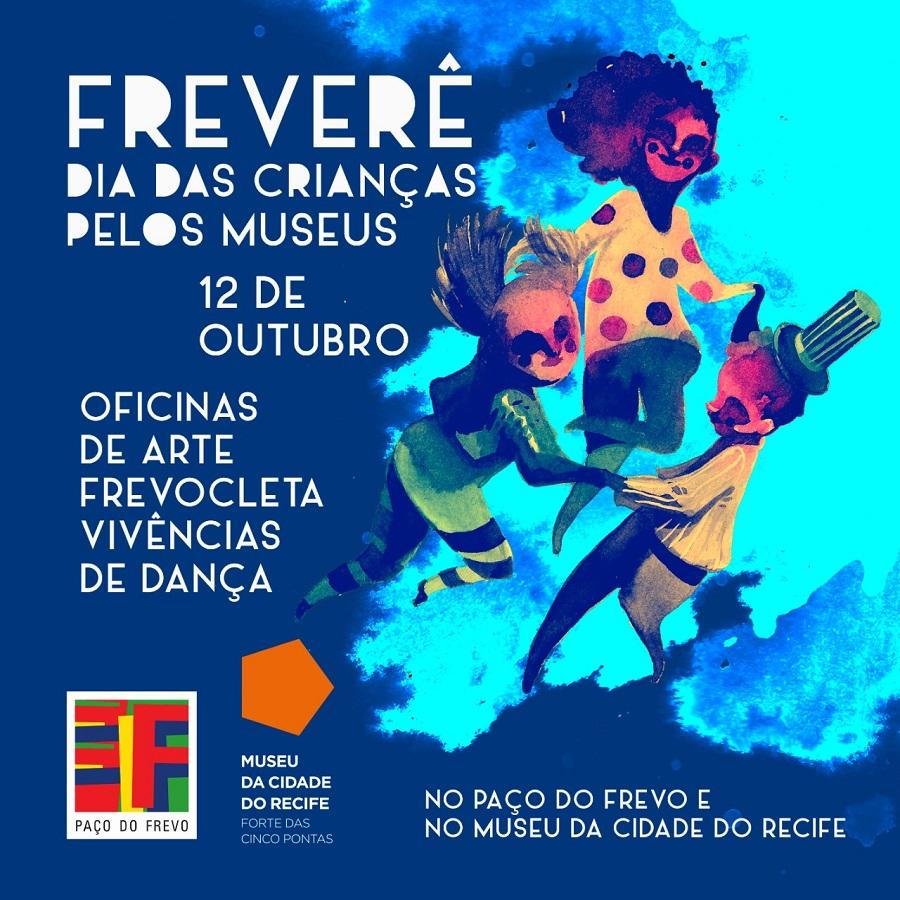 Museu da Cidade e Paço do Frevo programam atividades integradas no Dia das Crianças